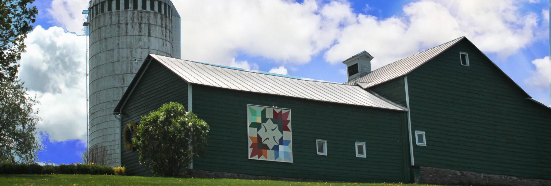 quilt barn photo - schoharie quilt barn trail